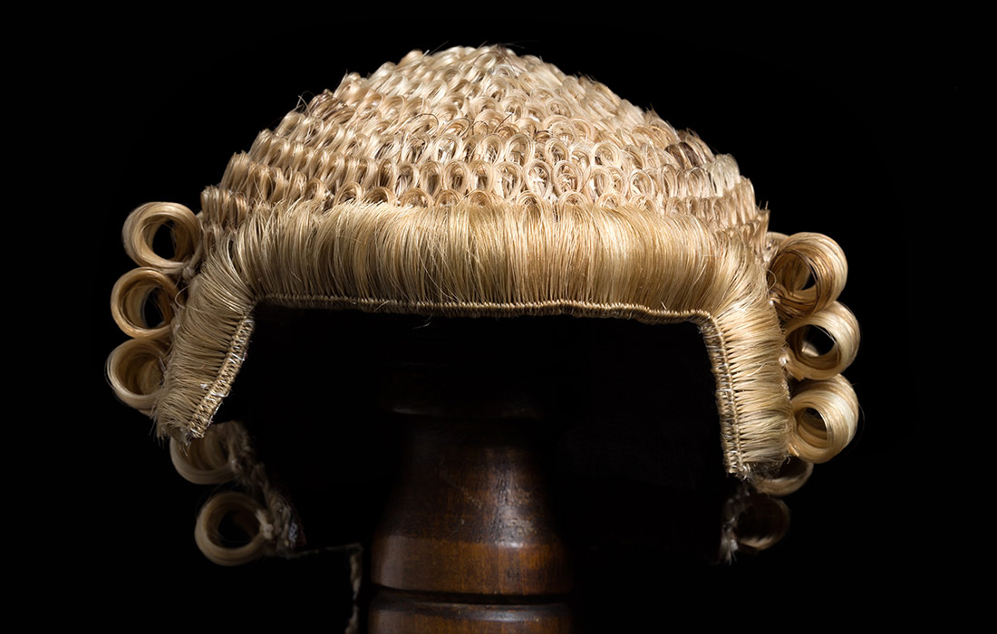 Lawyers Horsehair Wig - General Page Image