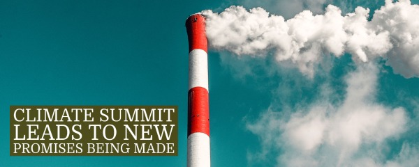 Climate summit leads to new promises being made