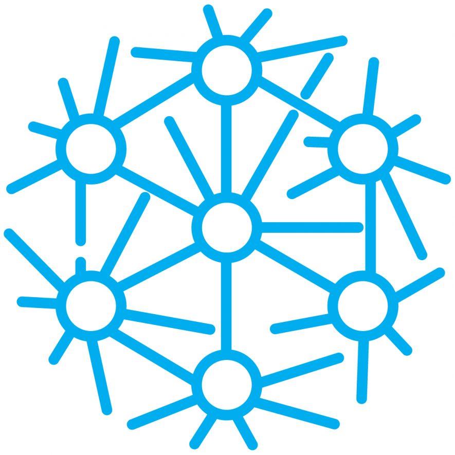 Logomark - Blue - White Background